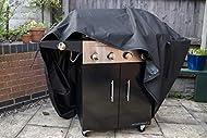 Speedwellstar Large BBQ Cover Waterproof 600 Denier Breathable 120 x 145 x 70 cm Very Heavy Duty Oxf...