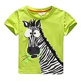 Amlaiworld Vêtements de Bébé Garçon Enfants garçons T-Shirt d'impression de Caractère Tops Zèbre Blouse...