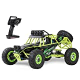 WLtoys 12428 RC Car, 1/12 Scale 4WD 50km/h High Speed RC Rock Crawler, 2.4Ghz Remote Control Off Road Truck for Adults & Kids