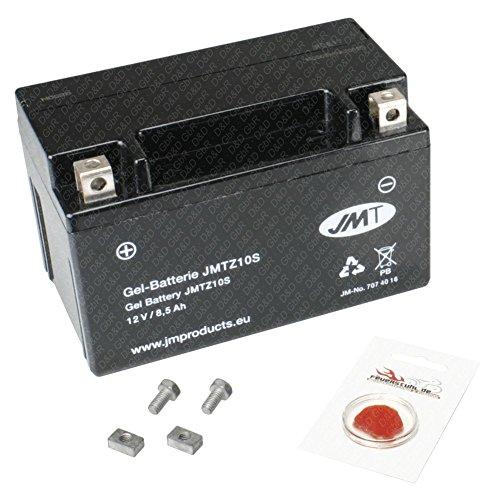 Gel-Batterie für Honda CBR 600 F, 2001-2007 (PC35), wartungsfrei, inkl. Pfand €7,50