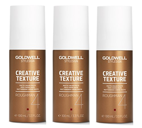 Goldwell Roughman Matt Styling Paste 3x100ml