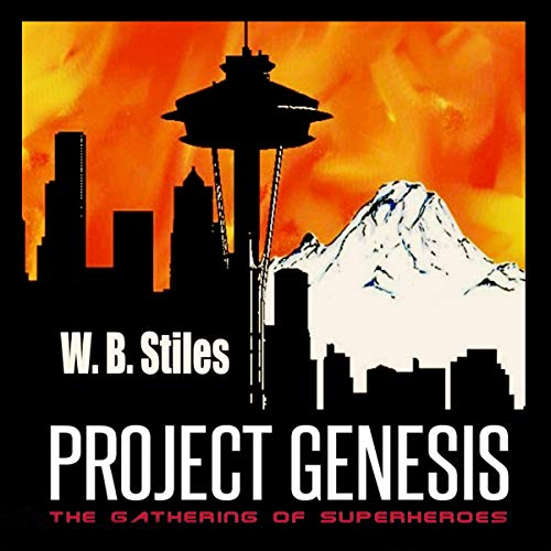 Project Genesis: The Gathering of Superheroes audiobook cover art