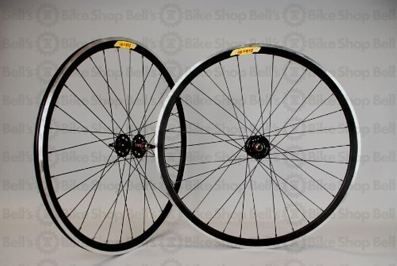 Velocity/Origin8 Deep-V Wheel Set 700c, FX/FW, MSW, Black