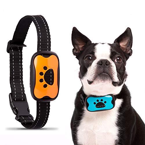 epetomize Anti Bark Dog Collar NO SHOCK - Safe harmless Anti Bark Collar with HUMANE VIBRATION -...