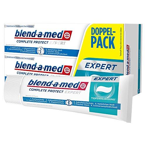 Blend-a-med Complete Protect Expert Tiefenreinigung Zahncreme 2x 75ml, 12er Pack (12 x 150 ml)