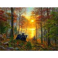 自然の風景パズルジグソー減圧パズル300/500/1000/1500ピース880330349(Size:500PCS)