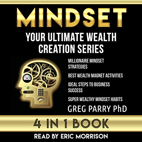 Mindset: Your Ultimate Wealth Creation Series, 4 Book Bundle audiobook cover art