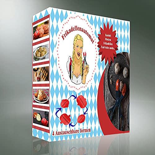 FRIKADELLENAUTOMAT LC050 Set Utensilios DE Cocina Kit 7 PCS, Plástico