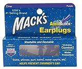 Macks Aqua Blocco Tappi per Le Orecchie, Unisex, Aquablock, Purple, Universale