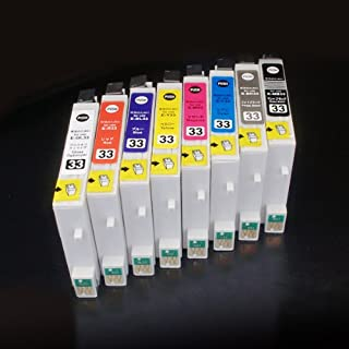 むさしのメディア EPSON(エプソン) IC8CL33 (8色セット) 互換インクカートリッジ ICチップ付き 残量表示対応