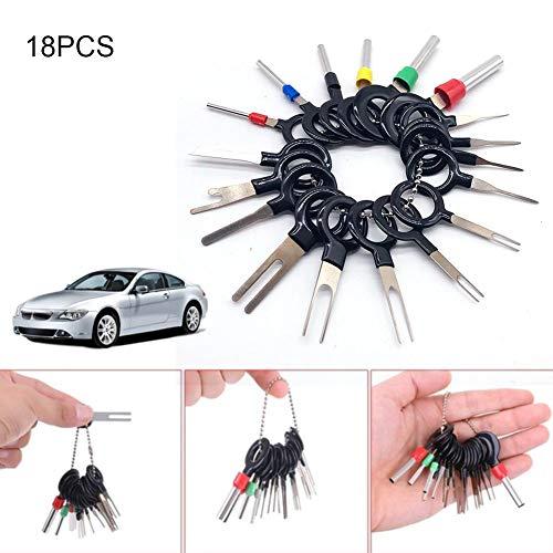 Further 18 Stück Auto-Werkzeug zum Abziehen von elektrischen Kabelklemmen, Werkzeug zum Abziehen von Kabelschuhen, Stecker, Abzieher, Werkzeug für die Reparatur des Autos