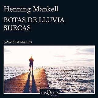 Botas de lluvia suecas audiobook cover art