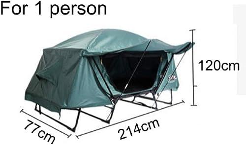 MDZH Tente Tente De Camping en Plein Air Tente De Pêche Polyvalente Portable Double Couche Tente étanche étanche à L'Humidité pour 1-2 Personnes