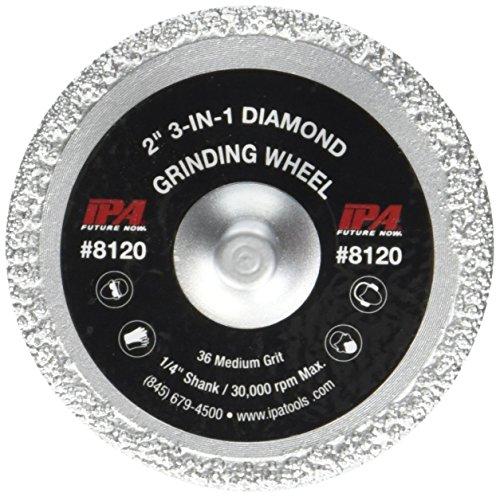 Innovative Products of America IPA 3-in-1 Diamond Grinding Wheel, 2' Diameter