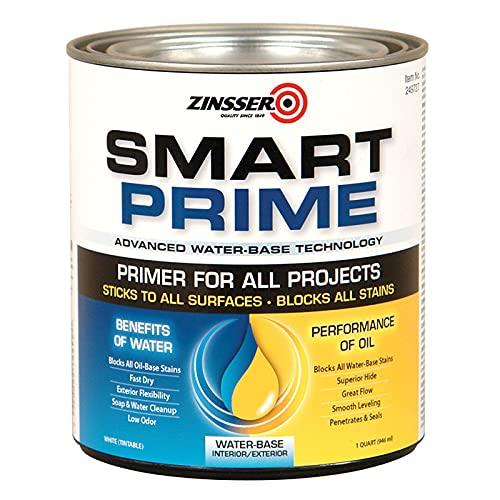 1 qt Zinsser 249727 White Zinsser, Smart Prime...