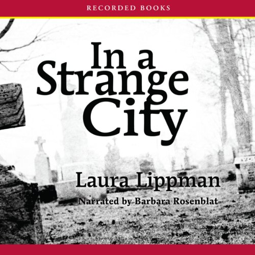 In a Strange City audiobook cover art