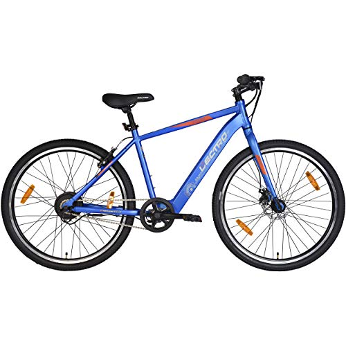 Lectro Kinza 27T Single Speed Electric Cycle ( Blue )| 3 Level LED...