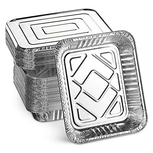 tin foil containers with lids - 9