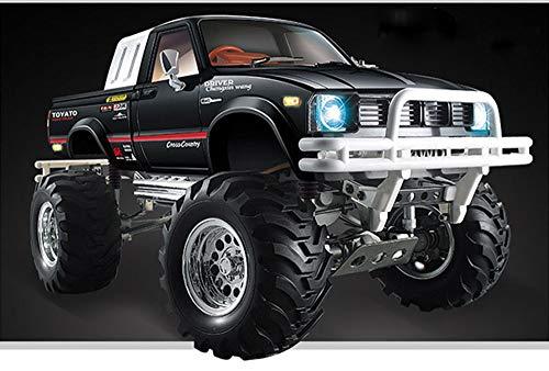 HG 1/10 RC Pickup Model 44 Rally Car Series Car Racing Crawler 2.4G RTR Black