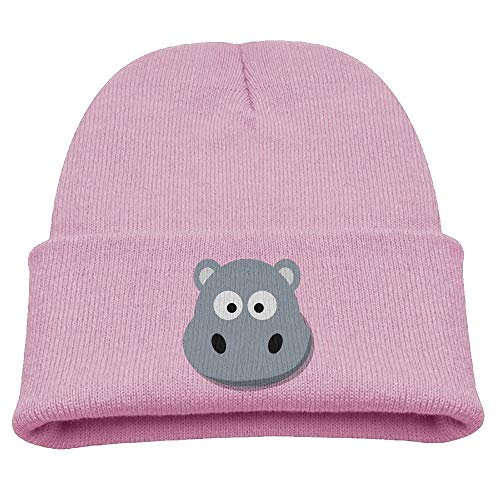 asagooder Cartoon Hippo Infant Toddler Baby Soft Cute Lovely Newborn Kids Hat Beanies Caps for Baby Boys Girls Black