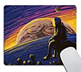 Smooffly Space Mouse pad,Astronaut Men Mousepad,Stars...