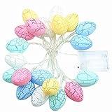 TOOWELL 20 Easter Eggs LED String Lights...