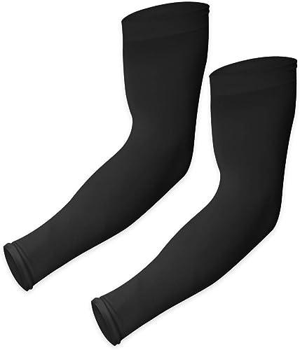 Mangas de protección solar UV – UPF 50 mangas de compresión de refrigeración para hombres y mujeres – Funda de brazo ...
