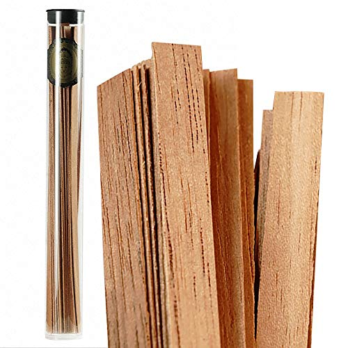DJR Cedar Spills by Cigar, Cigar Matches Reserve The Original Cigar Sticks Genuine Wood Strips for Cigars Lighting Lighter
