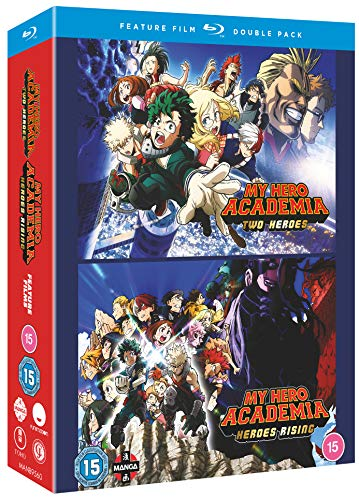 My Hero Academia: Movie Double Pack: Two Heroes & Heroes Rising [Blu-ray]