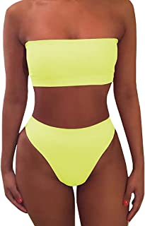 Best high waisted two piece swim Reviews