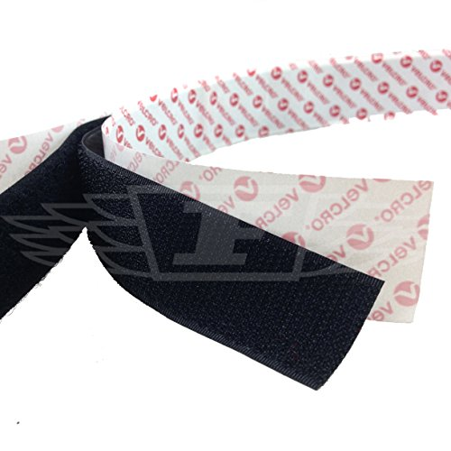 Velcro® PS14 Lot de 5 bandes adhésives auto-adhésives Noir 10 mm