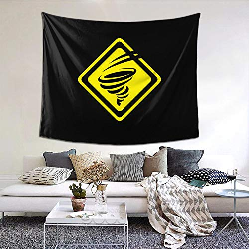 GEHIYPA Tornado Energy Team Logo Awall Hanging Tapestry 3d Printing Wall Poster Decor For Room Living One Size
