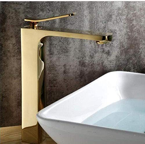 Wasserhahn Kostenloser Versand Gold Becken Wasserhahn Heißes und kaltes Becken Mixer Luxus Waschbecken Wasserhahn Hochwertiger Mixer Wasserhahn Wascharmatur