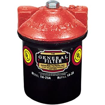 Amazon.com: Gneral Filter 2A-700B Galvanized Steel Fuel Oil Filter, 3/8