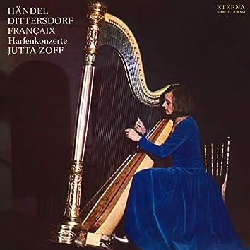 Händel, Dittersdorf & Françaix: Harfenkonzerte