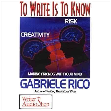 To Write is to Know cover art