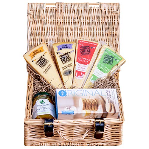 The Cheddar Gorge Cheese Company's 4 Cheese Hamper