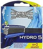 Wilkinson - Hydro 5 - Lames de rasoir pour Homme - Pack de 12