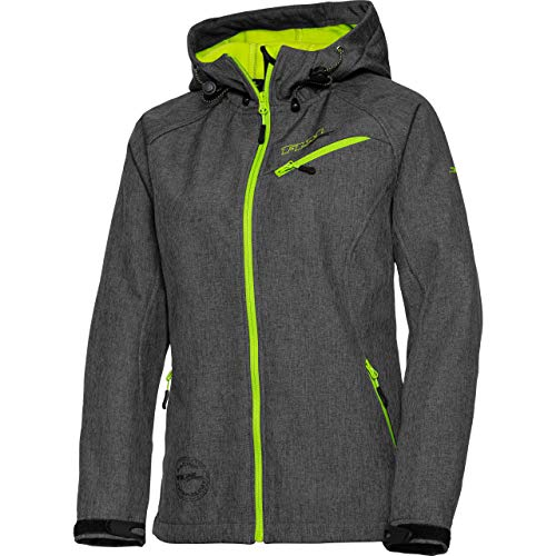 FLM Softshell Jacke, Softshelljacke, Funktions-Jacke Damen Softshelljacke 2.0 grau XL, Casual/Fashion, Winter, Textil