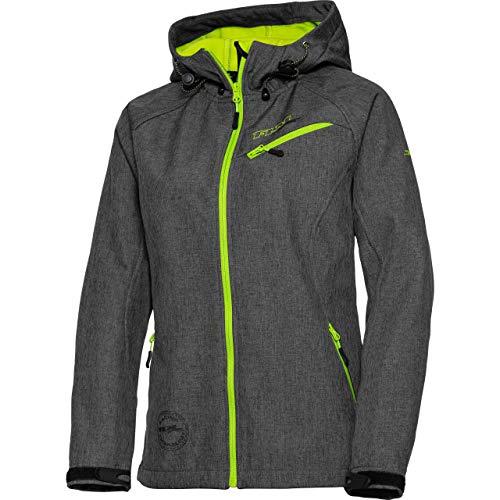 FLM Softshell Jacke, Softshelljacke, Funktions-Jacke Damen Softshelljacke 2.0 grau XS, Casual/Fashion, Winter, Textil