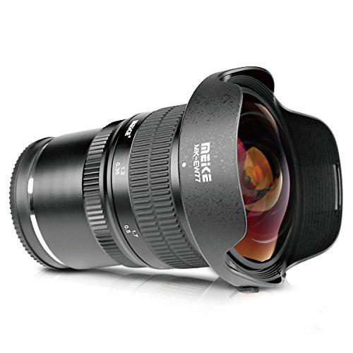 Meike Optics MK 8mm f3.5 Fisheye-Objektiv Ultra-Weitwinkel für MFT