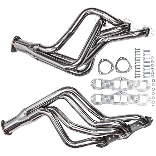 Long Tube SS Stainless Steel Performance Racing Headers for Olds Cutlass Delta 65-74 350 400 455 V8