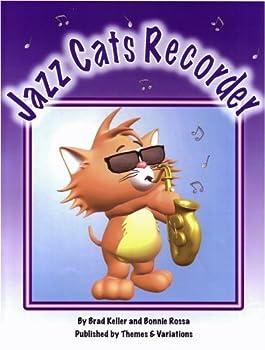 Paperback Jazz Cats Recorder Book