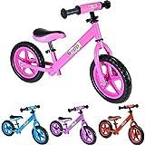 boppi Bicicleta sin Pedales de Metal para niños de 2-5 Anos - Rosa