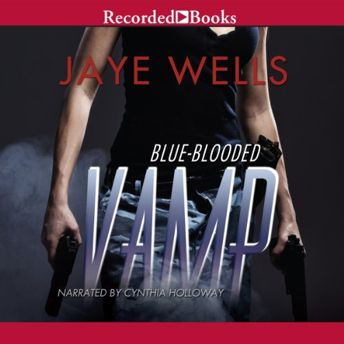 Blue-Blooded Vamp audiobook cover art