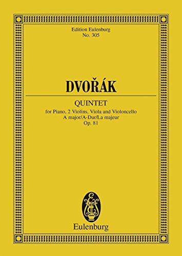 Quintet A major: Op. 81 (Eulenburg Studienpartituren) (English Edition)