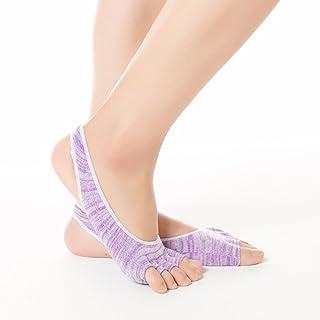 Pure Cotton Digging Hole Anti-Slip Leak Apply to Female Yoga Socks,Fully Breathable