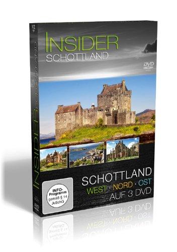 Insider Schottland - 3er Schuber [3 DVDs]