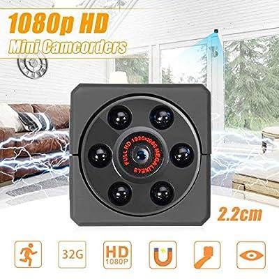 HD 1080P 6LED Mini Camcorders DVR Video Sport TF Card DV Camera Night Vision Home Security System Car Mobile Mini Camera