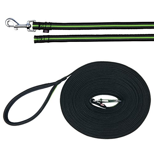 TX-20637 Fusion Tracking Leash 15 m/17 mm, Black/Green